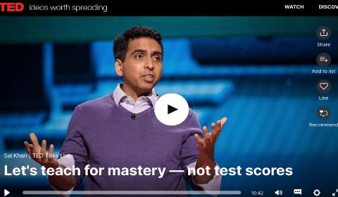 Let's Teach For Mastery