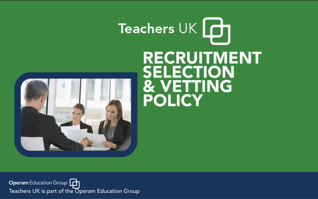 Recruitment, Selection & Verification Process
