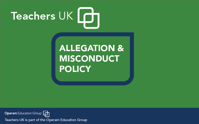 Allegations & Misconduct Policy