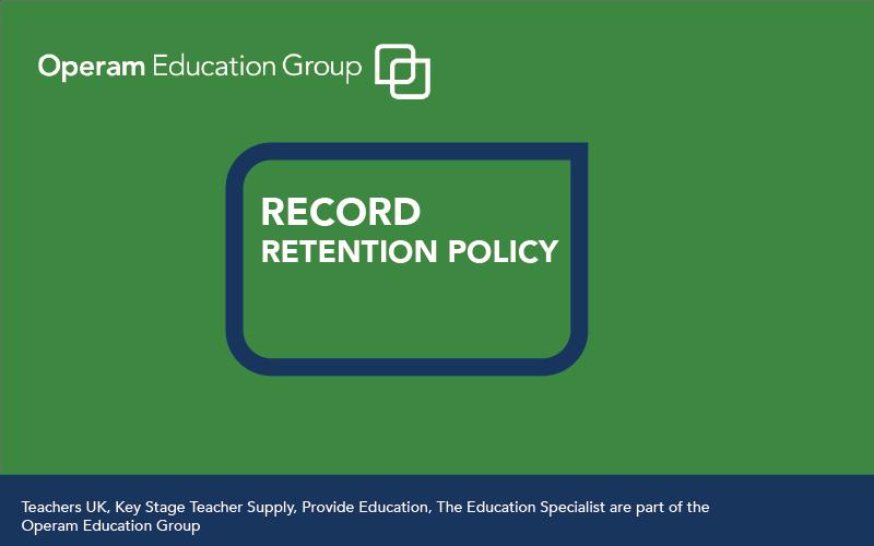Record Retention Policy